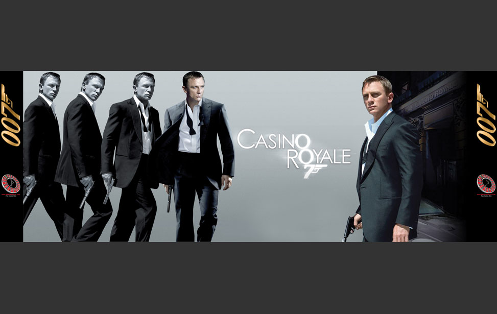 James Bond Casino Royale - 20' Backdrop