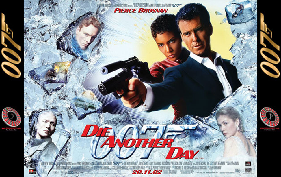 Die Another Day - 10' Backdrop