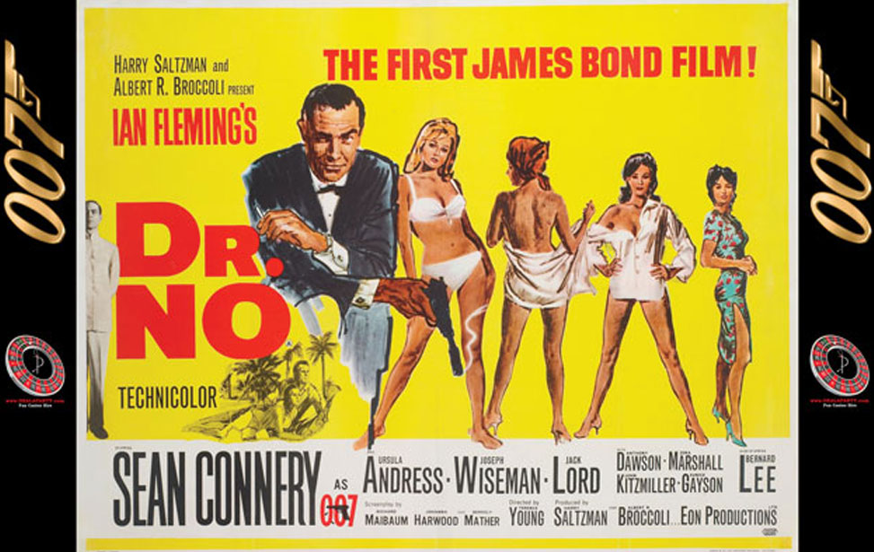 Dr. NO - 10' Backdrop