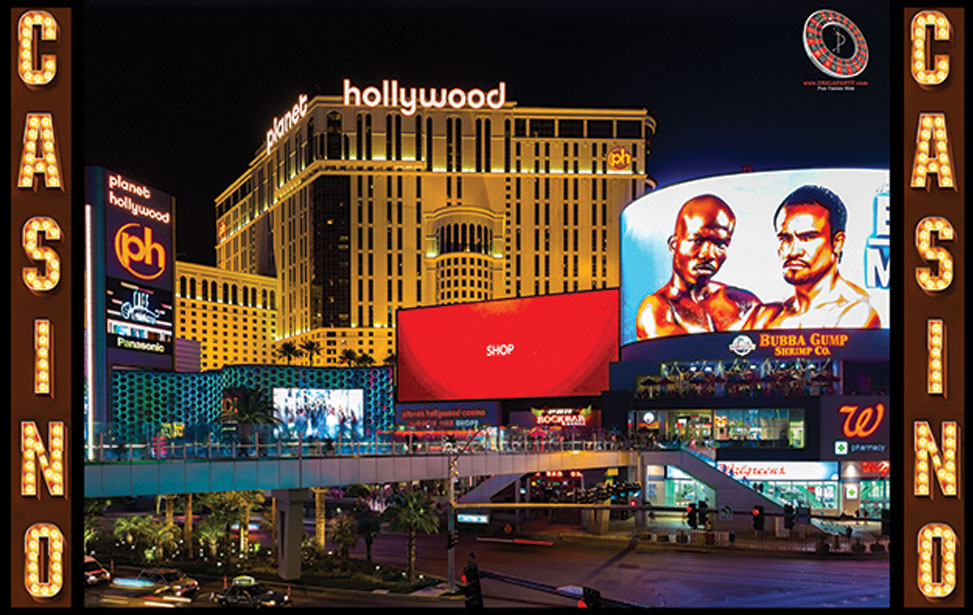 Las Vegas Hollywood - 10' Backdrop