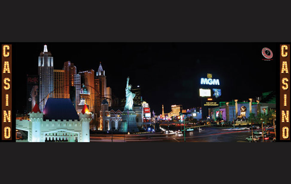 Las Vegas Skyline - 20' Backdrop