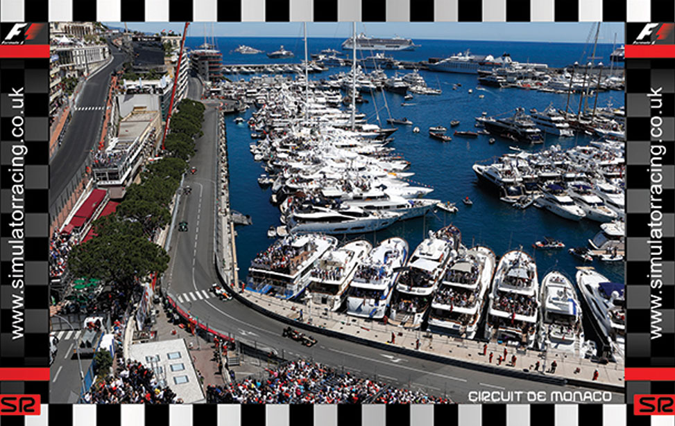 Monaco Marina - 10' Backdrop