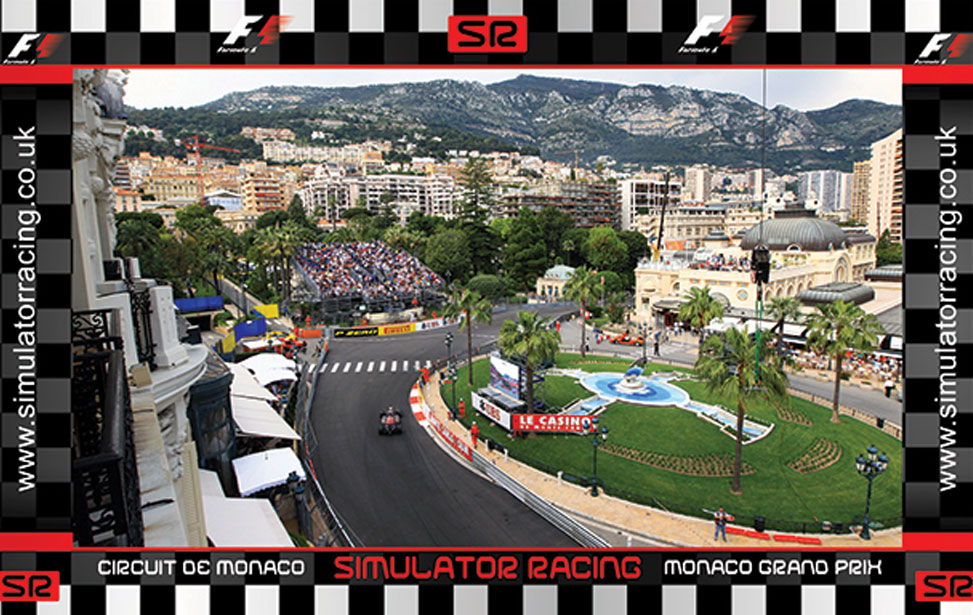 Monte Carlo Casino Hill - 10' Backdrop