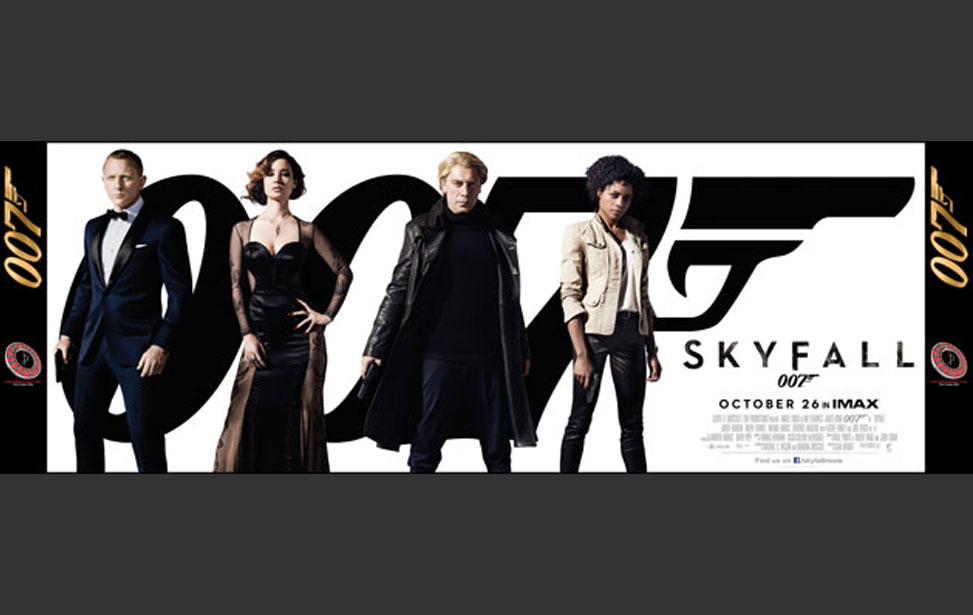 Skyfall - 20' Backdrop