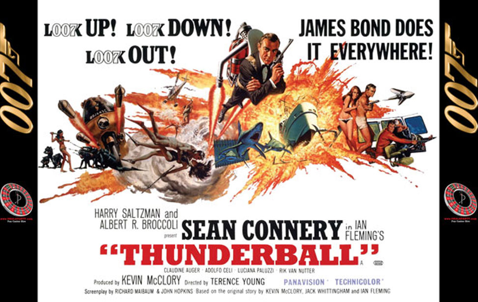 Thunderball - 10' Backdrop