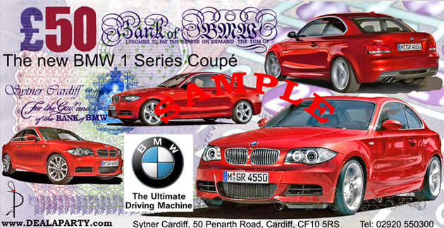 BMW Sytner Group M1 Coupe launch Casino promotional