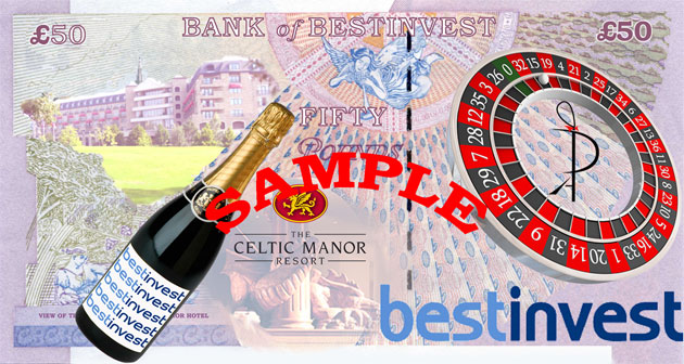 Bestinvest - Conference Entertainment, Celtic Manor Resort, Newport