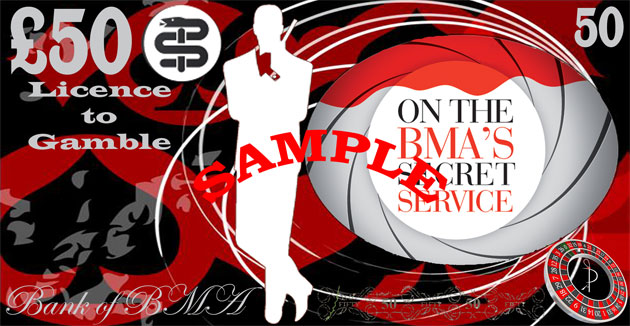 British Medical Association James Bond Ball - Cardiff City Football Stadium