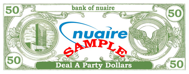 Nuaire Casino Christmas Party