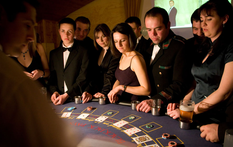 007 Casino Royale Blacktie Fundraising Event Pembrokshire